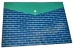 "Папка-конверт А4 кнопка пластик ""Якоря"" ФЕНИКС+ 45379 оптом"