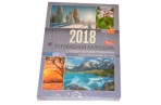 Календарь настольный перекид 160л 2018г ХАТБЕР с праздниками 16882 оптом