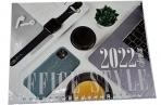 "2022 Календарь квартальный 1гр/3бл 195*440 2022 ""Мини-1. Office¶Style"" HATBER 3Кв1гр5ц_25964 оптом"
