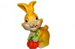 """Копилка-полистоун UW06-09221Y 15, 5 см """"Кролик с тыквой"""", 2 асс /2 /0 /36 оптом"""