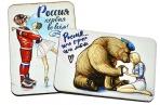 Деревянный магнит «Любимая Россия», МИКС, 4 вида оптом