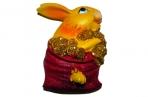 """Магнит-полистоун YX9091142 """"Кролик в богатстве"""", 4, 5х6см, 4 асс /12 /0 /288 оптом"""