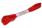 Нитки мулине №606, 8 ± 1 м, цвет красный оптом