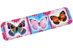 "Закладка ""Бабочки"" глиттер  4710844 оптом"