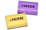 Ластик deVENTE Pastel, синтетика 22 х 18 х 10мм, прямоугольный, микс*4 цвета (штрих-код на каждом ластике) оптом