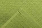 Полотенце вафельное Элиза 061 30х30 см, зелёное яблоко, хлопок 100%, 200г/м2  4777530 оптом