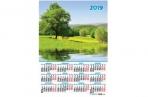 2019 Календарь-плакат А2 420*594 мм Роща оптом