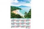 2019 Календарь-плакат А2 420*594 мм Море оптом