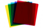 Обложка 233 х 455, для учебников 110 мкм, ПВХ, универсальная цветная, МИКС оптом