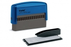 Штамп самонаборный 2-строчный, размер оттиска 70х10 мм, синий без рамки, TRODAT 4916DB, КАССЫ В КОМПЛЕКТЕ, 32912 оптом