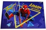 """Альбом для рисования А5, 12 л., """"Супергерой"""", Человек-паук 4979395 оптом"""