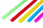 Трубочка для шаров, 41 см, d=6 мм, цвета МИКС оптом