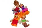"""Игра """"Кук. театр"""" 18224 """"Куклы на пальчики"""" набор 4 шт, 8 см /1 /0 /250 оптом"""