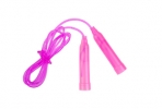 Скакалка пластиковая, 2, 5 м, d=0, 28 см, цвета МИКС оптом