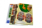 "Игра ""Пазлы"" 3D картон 8651 ""Домики"" /0 /0 /3000 оптом"
