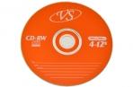 Диски CD-RW VS 700Mb 4-12х 50шт Bulk оптом