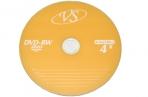 Диски DVD-RW VS 4, 7Gb 4х 50шт Bulk оптом