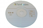 Диски CD-R VERBATIM 700Mb 52х 100шт Cake Box оптом