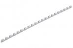 Пружины пласт. д/переплета BRAUBERG,  8 мм (для сшивания 21-40л), белые, 530810 оптом