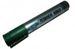 Маркер перм. YIWU Logistic круг/жало 5мм зеленый, серебр. корп. оптом