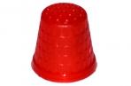 Напёрсток, d = 2 см, цвет красный оптом