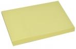 Блок с липким краем 51мм*76мм 80л пастель желтый оптом