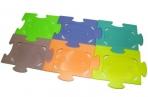 Фоторамка-пластик 0037 групповая на 6 фото, 5х8см, пазлы /1 /0 /1440 оптом