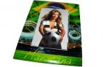 "Фоторамка-стекло 9957 ""Футбол"", 10х15 см, 4 асс. /1 /0 /60 оптом"