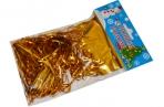 НГ Дождик новогодний, ширина 100мм, длина 1, 5м, ассорти (серебро, золото, красный, синий), ДН-100 оптом