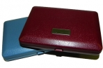 Визитница 2805 на 7 карточек, пластик, 7х10 см, цв. асс /1 /0 /500 оптом