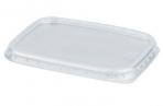 Крышка для контейнера 108х82мм, ПП, прозрачная, контейнеры код 604250-51-52-53-54, СТИРОЛПЛАСТ оптом