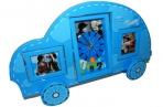 """Фоторамка-пластик 3840 """"Детская"""" с часами, на 2 фото, 35х23 см /1 /0 /48 оптом"""