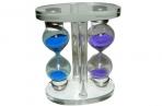 Часы песочные 19-60, 7х9, 5 см, стекло /1 /0 /96 оптом