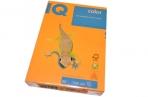 Бумага цветная IQ COLOR (А4, 80г, NEOOR-оранжевый неон, Австрия) ~~ оптом