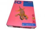 Бумага цветная IQ COLOR (А4, 80г, NEOPI-розовый неон, Австрия). ~~ оптом