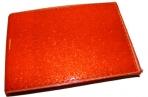 """Визитница 4006/2_V """"Лак оранжевый"""", на 16 карточек, 7, 5х11см, к/зам J. Otten /50 /0 оптом"""