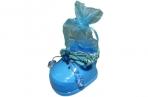 """Шкатулка-мешочек MD010-8А """"Детский башмачок"""", 7*5, 5 см, пластик /12 /0 /600 оптом"""