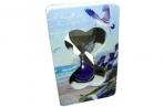 """Часы песочные 628 """"Морские"""", 10, 5*6, 5 см, дерево+стекло /1 /0 /160 оптом"""