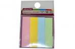 Клейкие закладки бумажные 4цв. по 25л. 12ммх50 Attache оптом