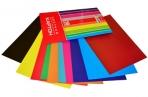 """Картон цветной мелов двуст А4 10л 10цв """"Creative Set"""" в папке ХАТБЕР 05934 оптом"""