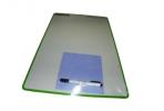 Доска двухсторон, гладкая/в клетку, 34х48 см, 1 маркер 2709+салфетка в комплекте, с европодвесом, CENTROPEN оптом
