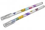 Ручка гелевая ПИШИ-СТИРАЙ 0.5 мм стержень синий, корпус МИКС Смайл (штрихкод на штуке) 7039291 оптом