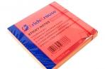Бумага с клеевым краем 75*75 мм неон оранжевый Erich Krause оптом