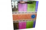 """Пакет подар. бумага 3804 """"Цветные доски"""" 31*40*12 /12 /0 /360 оптом"""