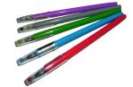 """Ручка гель 571С """"Кристалл"""", игольчатый син. стерж. 0.5 мм, цв. асс /50 /0 /2400 /0 оптом"""