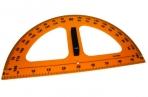 Транспортир 2574 для школьной доски с держ 180°, 50см, пластик /1 /0 /50 /0 оптом