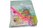 Набор Плетение из резинок 2424 цветные+крючок /0 /0 /2400 /0 оптом