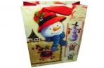 """Пакет подар. бумага 5991-3 """"Новый год"""", 17х21. 5х8. 5см, асс /12 /0 /840 /0 оптом"""