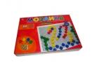 Игрушка МОЗАЙКА ПЛАСТИКОВАЯ. 60 фишек, диаметр 20 мм (Арт. М-0164) Рыжий кот /0 /0 /16 /0 оптом