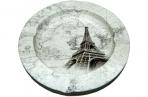 Пепельница металическая Париж оптом